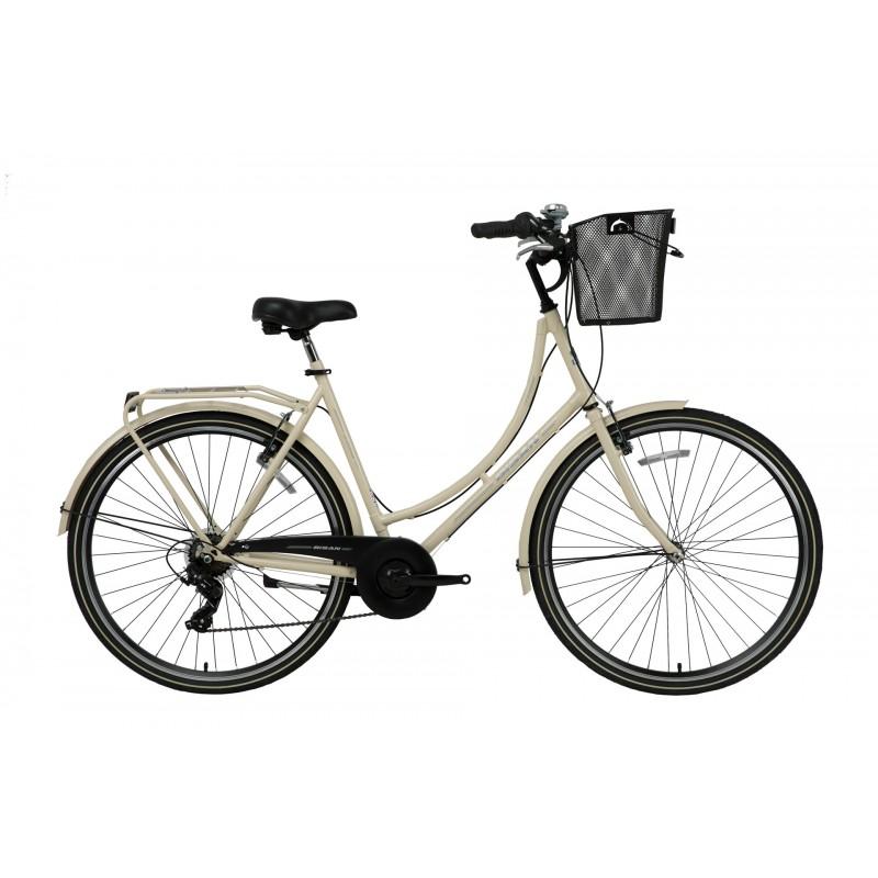 Bisan Paradise S 28 V Şehir Bisikleti (Krem-Gri)