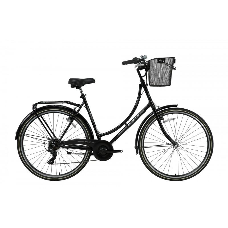 Bisan Paradise S 28 V Şehir Bisikleti (Siyah-Gri)