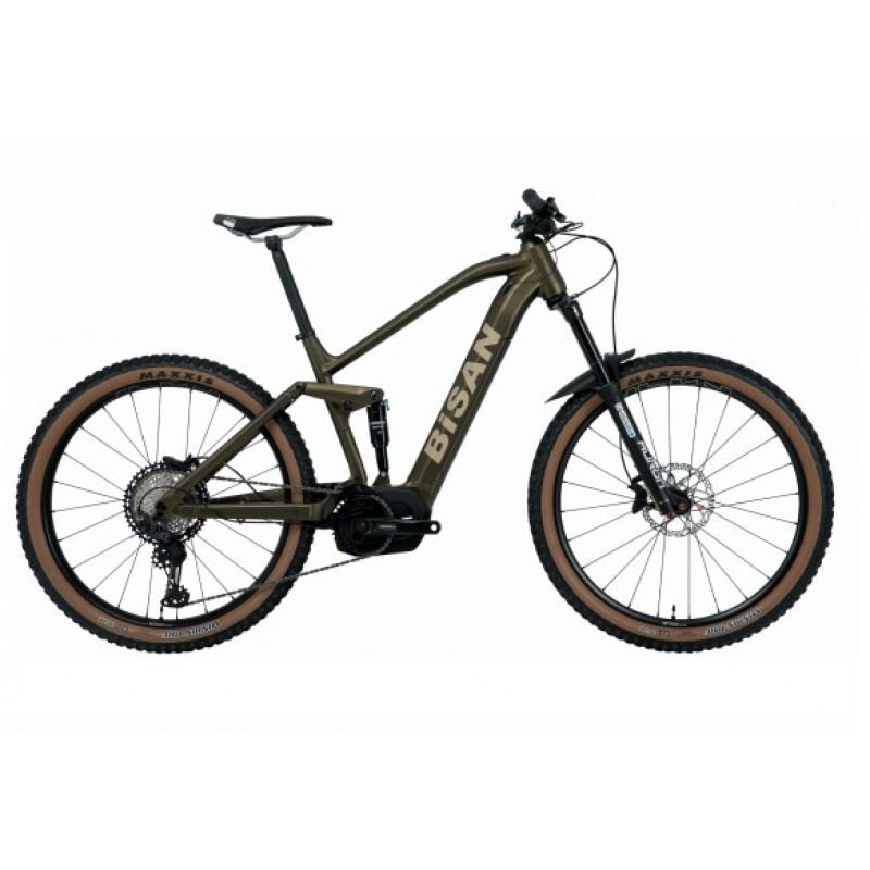 Bisan Python Elektrikli Dağ Bisikleti Enduro 29 J...