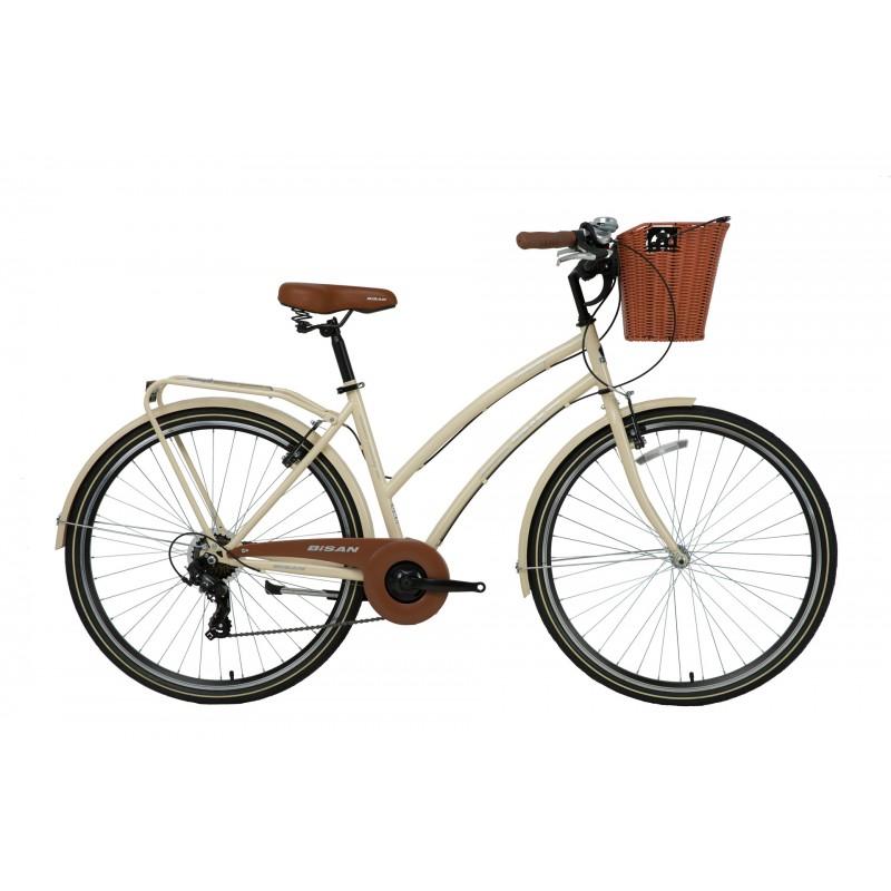Bisan Serenity S Şehir Bisikleti 28 Jant (Krem-Si...