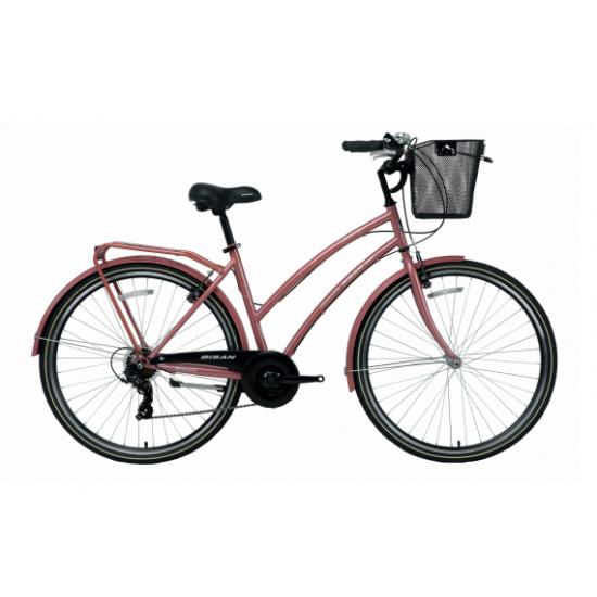 Bisan Serenity S Şehir Bisikleti 28 Jant (Rose)