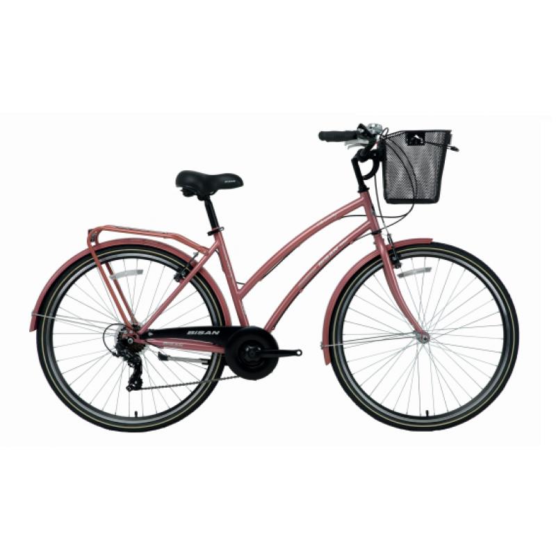 Bisan Serenity S 28 V Şehir Bisikleti (Yeşil-Sil...