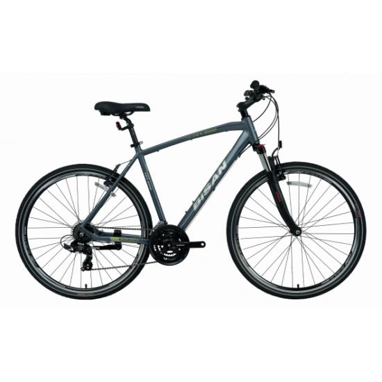 Bisan Trx 8100 Trekking Bisiklet 28 Jant (Siyah-Turuncu)