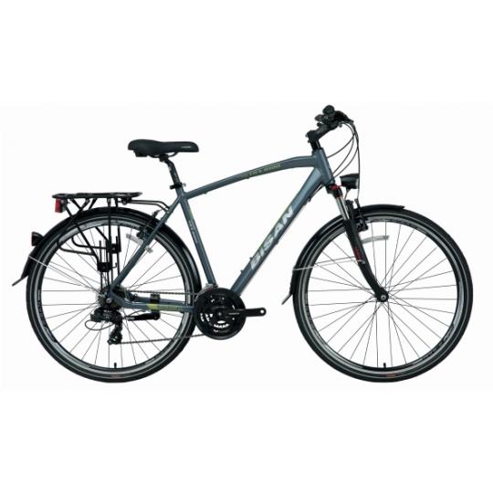 Bisan Trx 8100 City Trekking Bisiklet 28 Jant (Mavi-Yeşil)