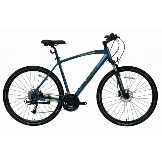 Bisan Trx 8500 Hd Trekking Bisiklet 28 Jant (Mavi-Yeşil)