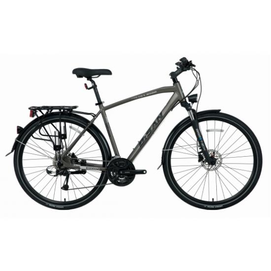 Bisan Trx 8500 City Hd Trekking Bisiklet 28 Jant (Mavi-Yeşil)