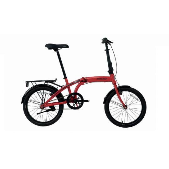 Bisan Twin Katlanır Bisiklet 20 Jant (Mavi-Siyah)