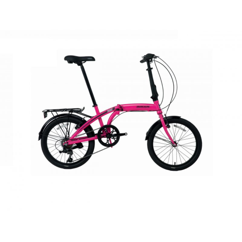 Bisan Twin-S Katlanır Bisiklet 20 Jant (Mavi-Siya...