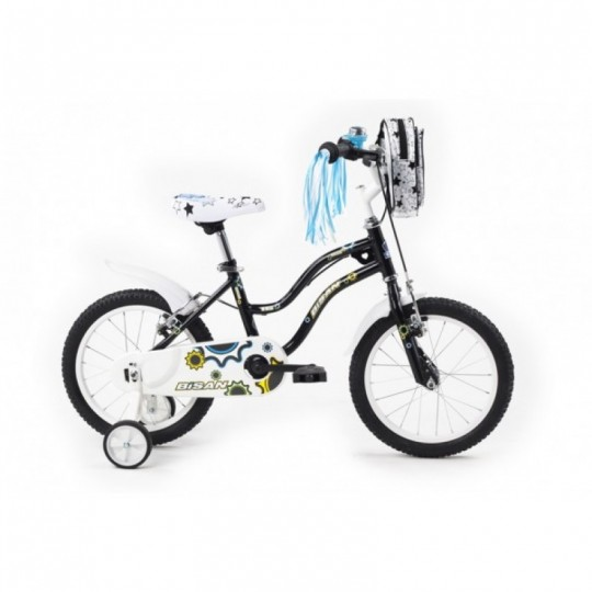 Bisan Kds 2200 Çocuk Bisikleti 16 Jant (Siyah)