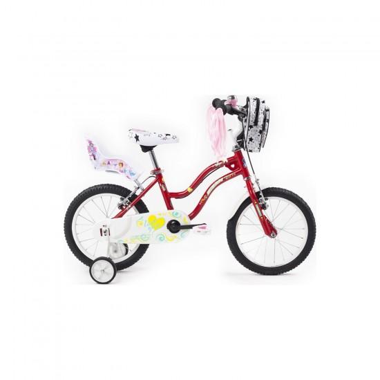 Bisan Kds 2100 Çocuk Bisikleti 16 Jant (Kırmızı)