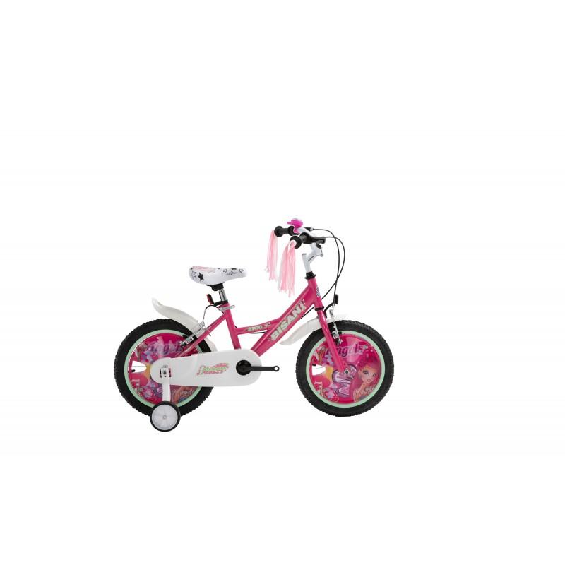 Bisan Kds 2100 Çocuk Bisikleti 16 Jant (Lila)