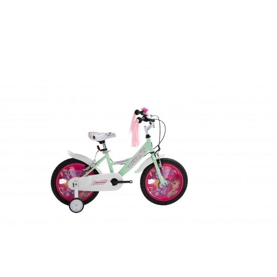 Bisan Kds 2100 Çocuk Bisikleti 16 Jant (Su Yeşili)