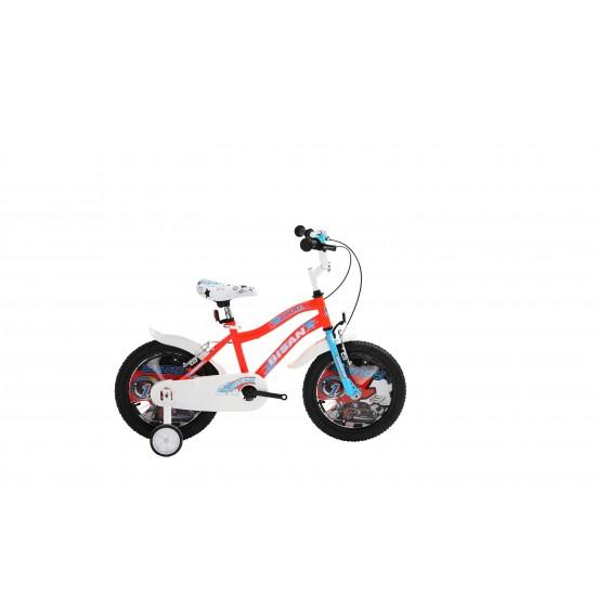 Bisan Kds 2200 Çocuk Bisikleti 16 Jant (Turuncu Mavi)