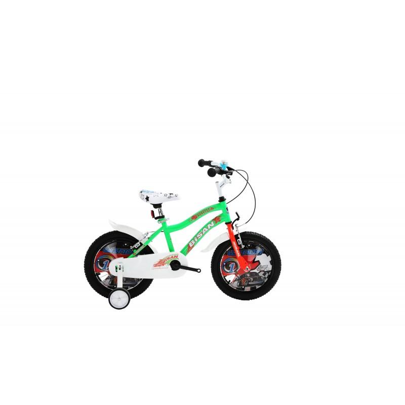 Bisan Kds 2200 Çocuk Bisikleti 16 Jant (Yeşil Tu...
