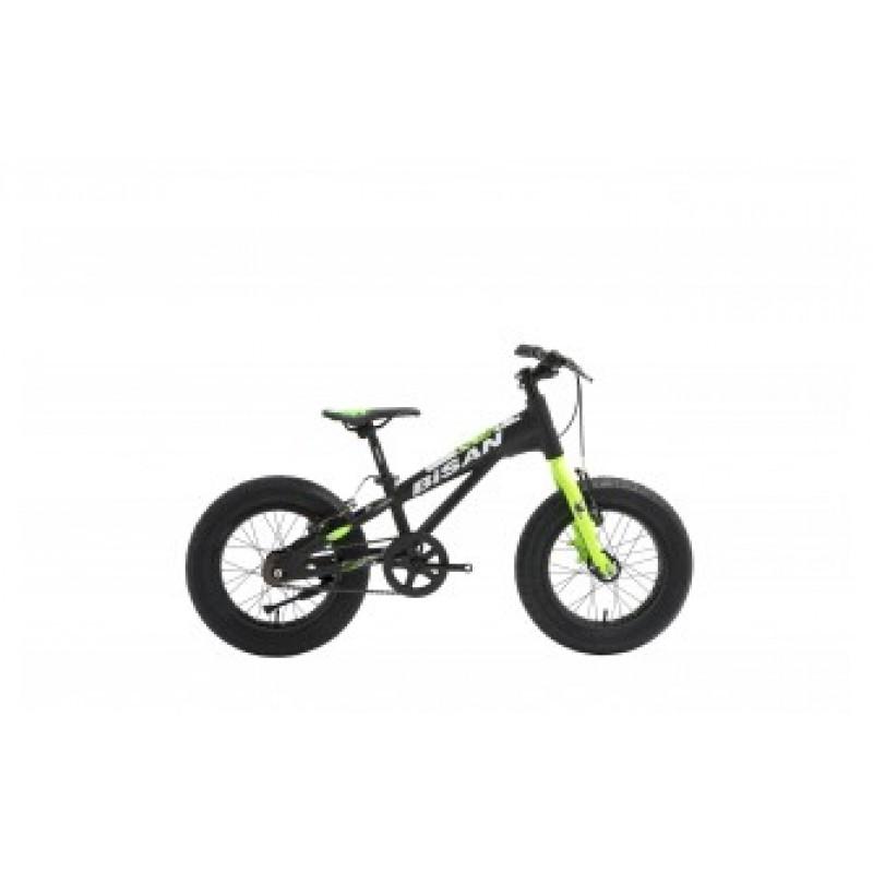 Bisan Limit 16 Çocuk Bisikleti Fat Bike (Siyah-Turuncu)