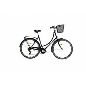Bisan Paradise S Şehir Bisikleti 28 Jant (Siyah)