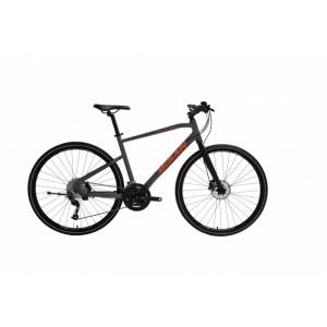 Bisan Trx 8400 Hd Trekking Bisiklet (Mat Gri-Turun...