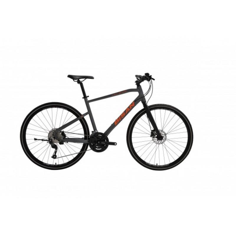 Bisan Trx 8400 Hd Trekking Bisiklet (Mat Gri-Turuncu)