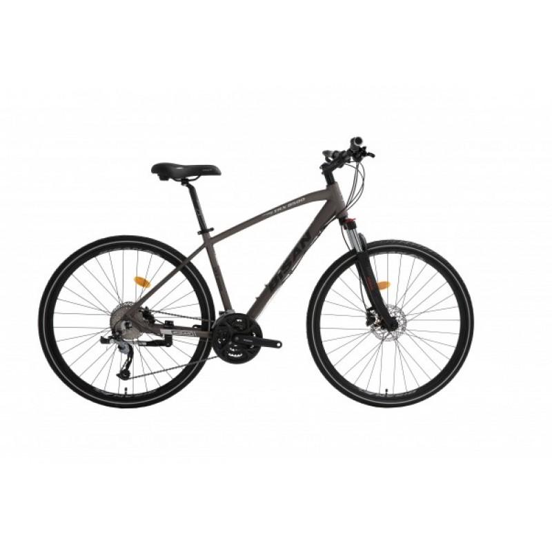 Bisan Trx 8500 Hd Trekking Bisiklet 28 Jant (Gri-Beyaz)