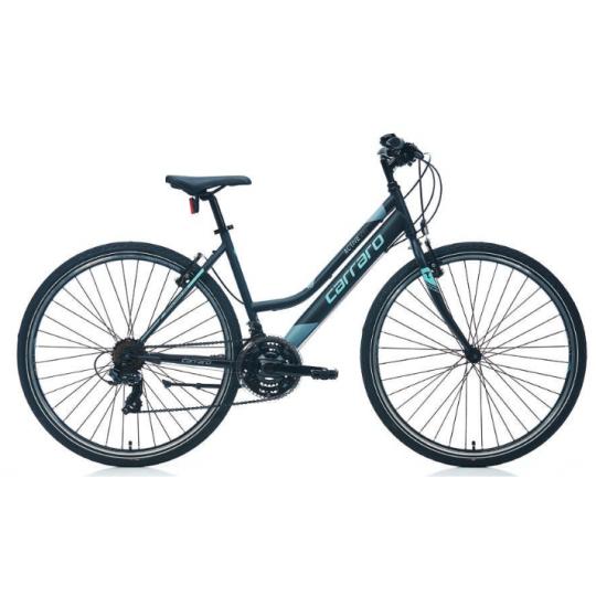 Carraro Active 282 28 V Şehir Bisikleti (Mat Siyah Koyu Gri Mor)
