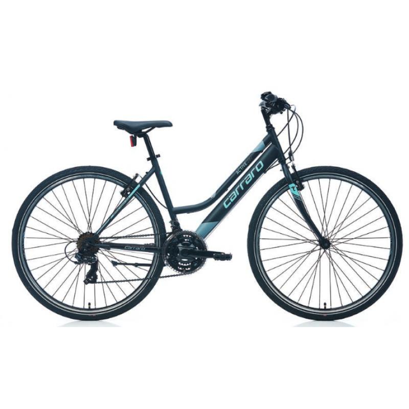 Carraro Active 282 28 V Şehir Bisikleti (Mat Siya...