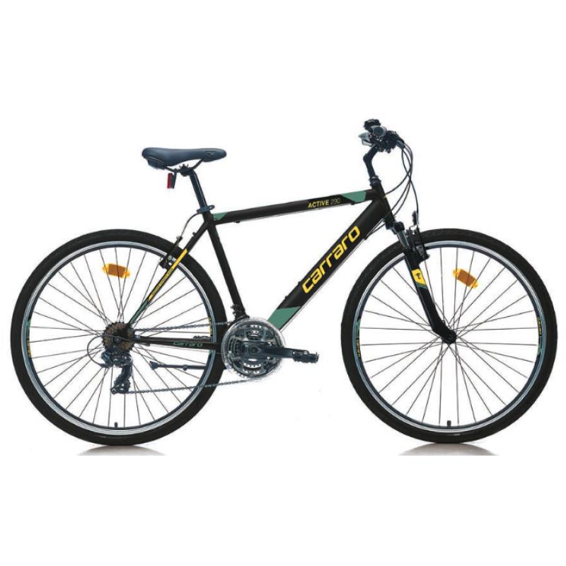 Carraro Active 290 28 V Şehir Bisikleti (Mat Siya...