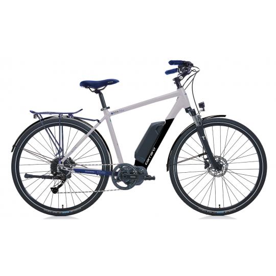 Carraro E-Time Mars 28 Hd Elektrikli Bisiklet (Mat Gümüş Siyah Mavi)