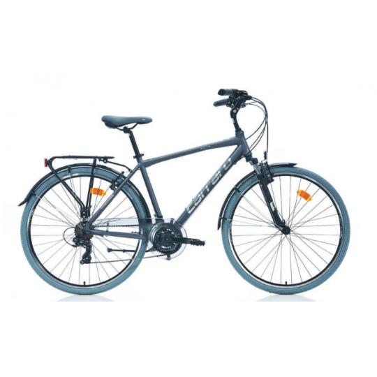 Carraro Elite 704 28 V Şehir Bisikleti (Mat Antrasit-Gri-Krom)