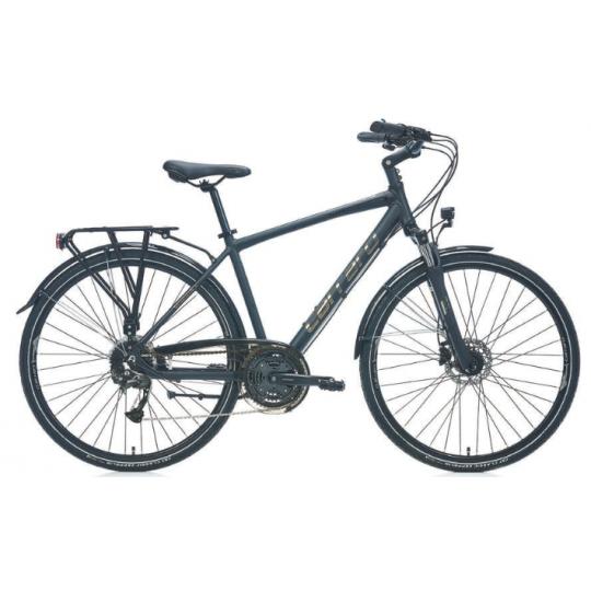 Carraro Elite 906 Şehir Bisikleti 28 Jant (Mat Siyah Parlak Siyah Krom)