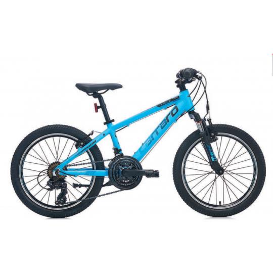 Carraro Force 200 Çocuk Bisikleti 20 Jant (Mat Kırmızı-Siyah-Beyaz)