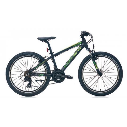 Carraro Force 400 Dağ Bisikleti 24 Jant (Mat Açık Mavi-Siyah-Gümüş)