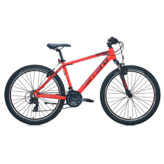 Carraro Force 600 Dağ Bisikleti 26 Jant (Mat Kırmızı-Siyah-Beyaz)