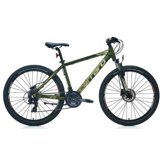 Carraro Force 620 Dağ Bisikleti 26 Jant (Mat Koyu Yeşil-Yeşil-Gümüş)
