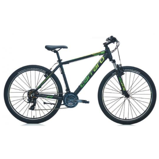 Carraro Force 700 Dağ Bisikleti 27.5 Jant (Mat Siyah-Yeşil-Gümüş)