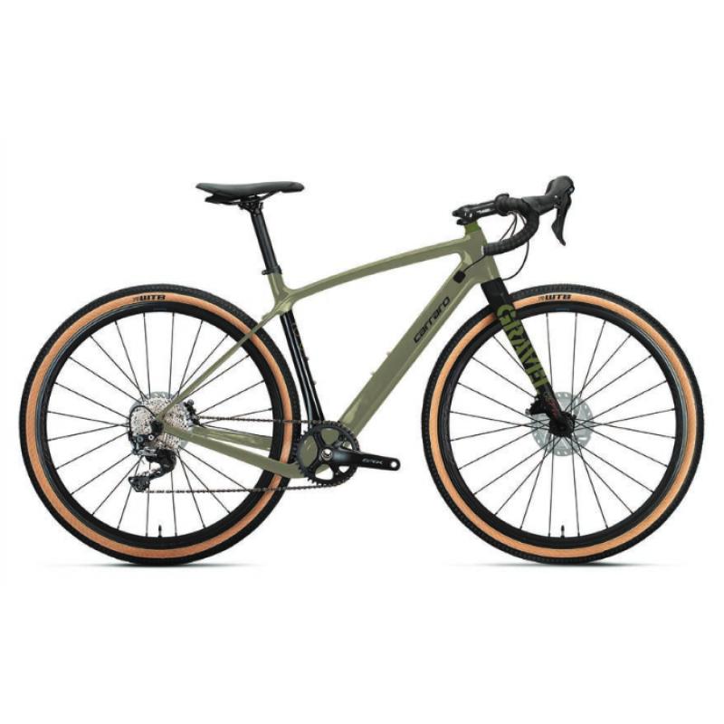 Carraro Gravel G6 Pro Bisikleti 28 Jant (Mat Yeşi...