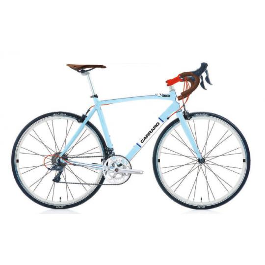 Carraro Miglia 28 V Yarış Bisikleti (Açık Mavi Beyaz Kırmızı)