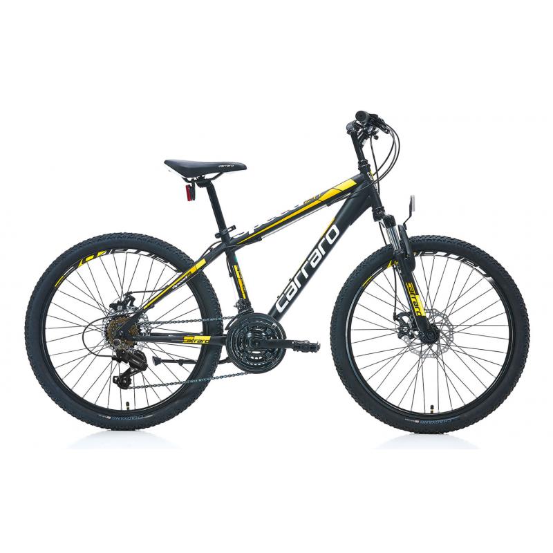 Carraro Speed 241 24 Md Dağ Bisikleti (Mat Siyah-...