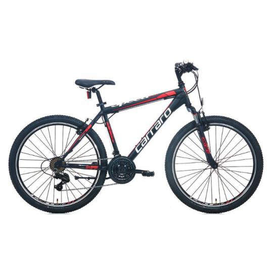 Carraro Speed 260 26 V Dağ Bisikleti (Mat Siyah-Mavi-Koyu Mavi)