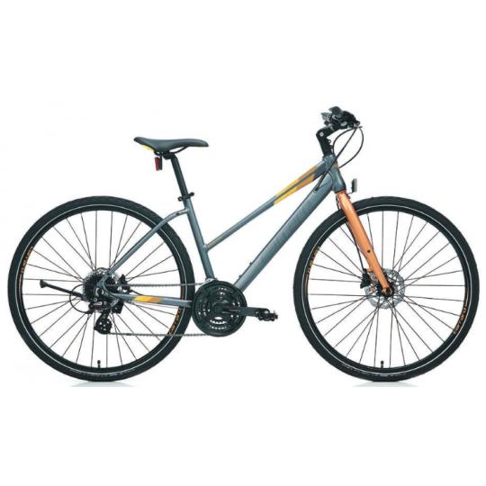 Carraro Sportive 325 28 Hd Şehir Bisikleti (Mat Gri Bronz)
