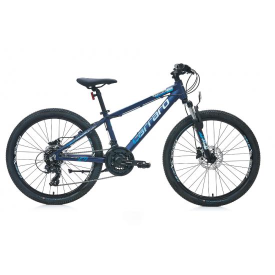 Carraro Force 420 Hd Dağ Bisikleti 24 Jant (Mat Celeste-Mavi)