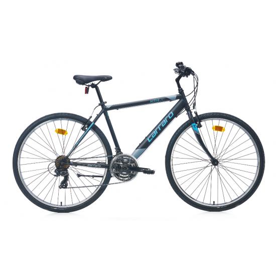 Carraro Active 280 Şehir Bisikleti 28 Jant (Mat Siyah Koyu Gri Yeşil)