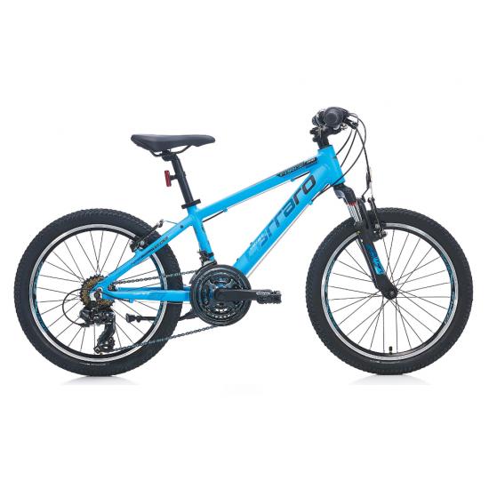 Carraro Force 200 Çocuk Bisikleti 20 Jant (Mat Açık Mavi-Siyah-Gümüş)