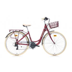 Carraro Juliet Şehir Bisikleti 28 Jant (Mat Bordo...