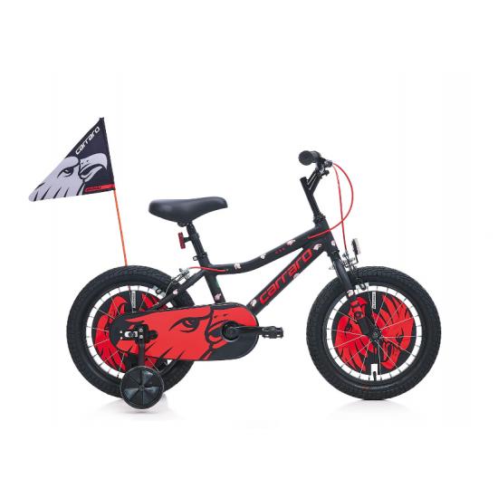 Carraro Red Eagle 16 Jant Çocuk Bisikleti (Kırmızı-Siyah)