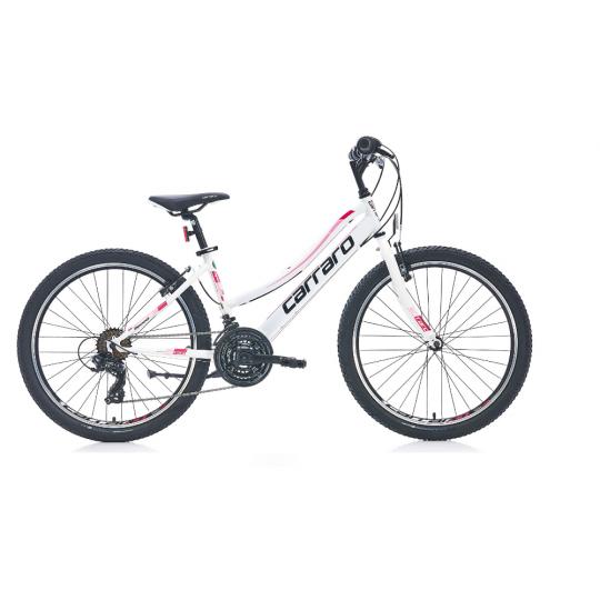 Carraro Speed 242 Dağ Bisikleti 24 Jant (Beyaz Fuşya)