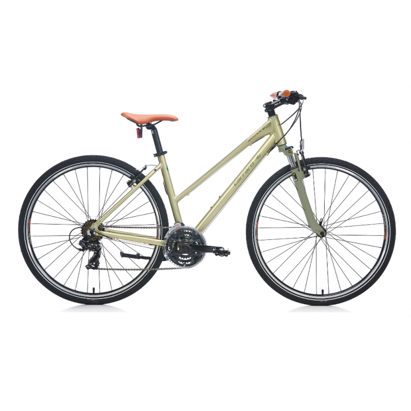 Carraro Sportive 222 Şehir Bisikleti 28 Jant (Mat Mor-Gri-Fuşya)