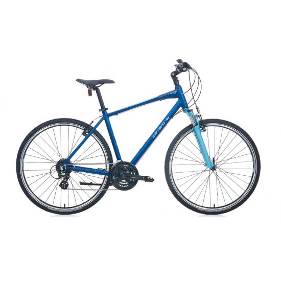 Carraro Sportive 224 Şehir Bisikleti 28 Jant (Mat Koyu Mavi-Mavi-Gri)