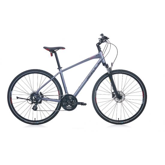 Carraro Sportive 225 Şehir Bisikleti 28 Jant Hd (Mat Antrasit-Siyah-Kırmızı)