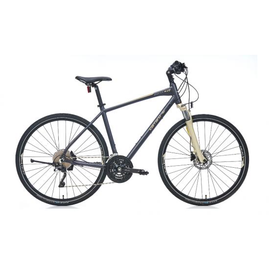 Carraro Sportive 230 Şehir Bisikleti 28 Jant Hd (Mat Koyu Gri-Bronz-Açık Gri)