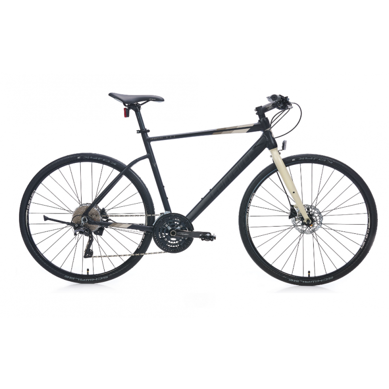 Carraro Sportive 330 Hd Şehir Bisikleti 28 Jant (Mat-Siyah-Bej)